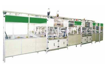 塑料气缸罩盖自动装配、检测生产线